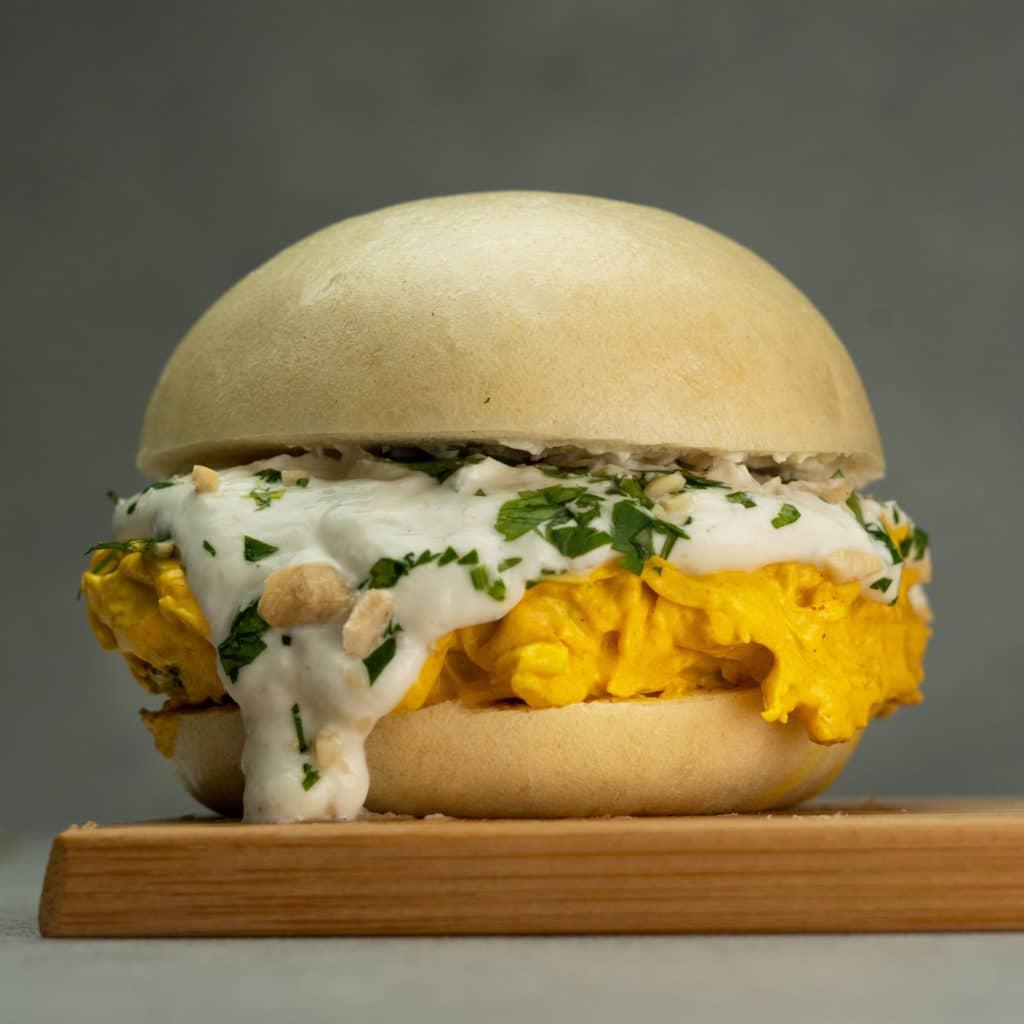 Bao Burger Indian Curry- Restaurant MamaBao à Lyon