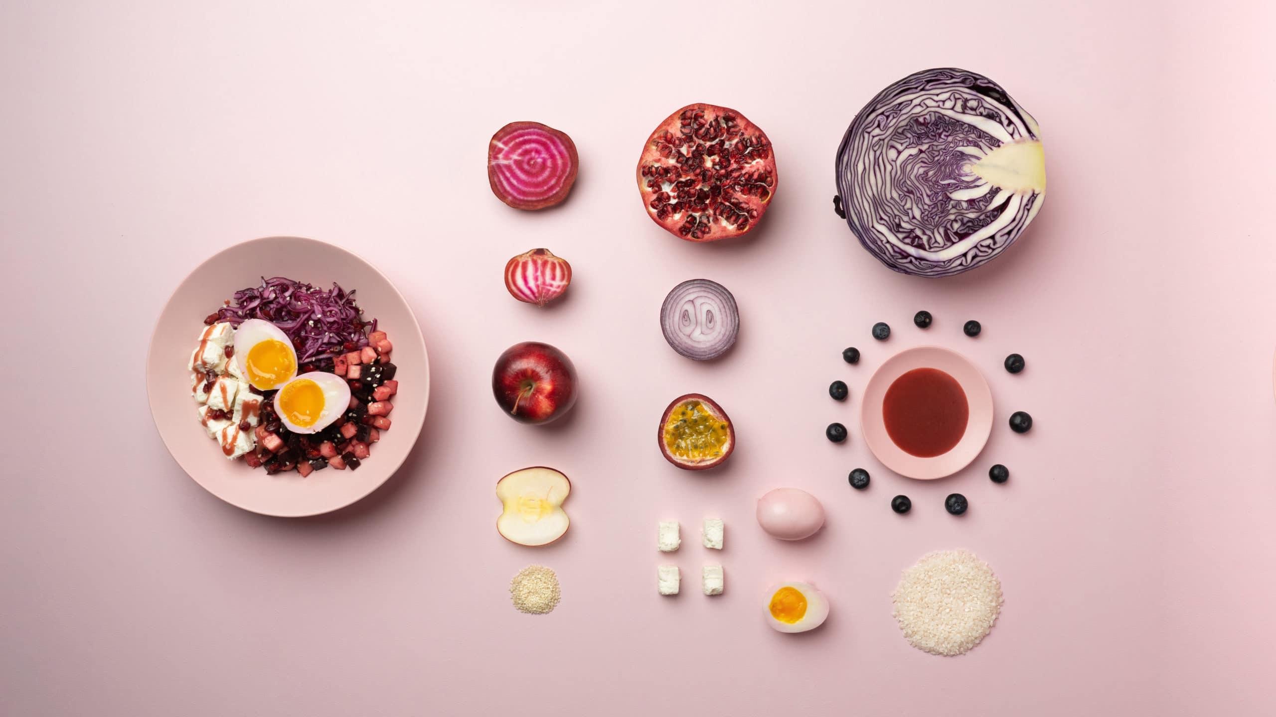 Decomposition du bowl PinkMe Moko Moko Gardlab