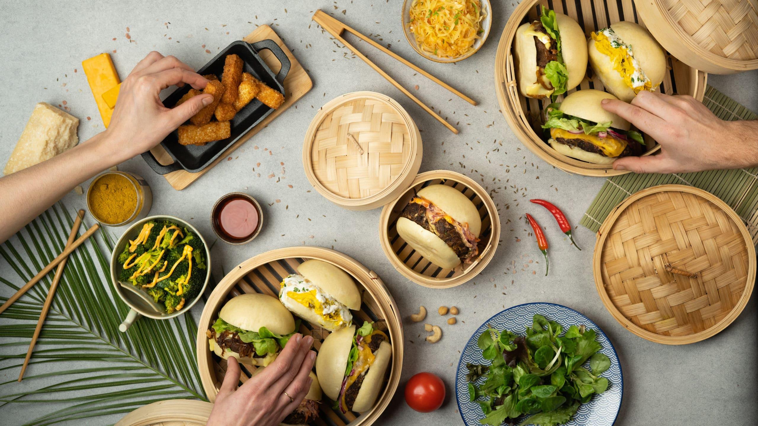 MamaBao-Restaurant Bao burger lyon
