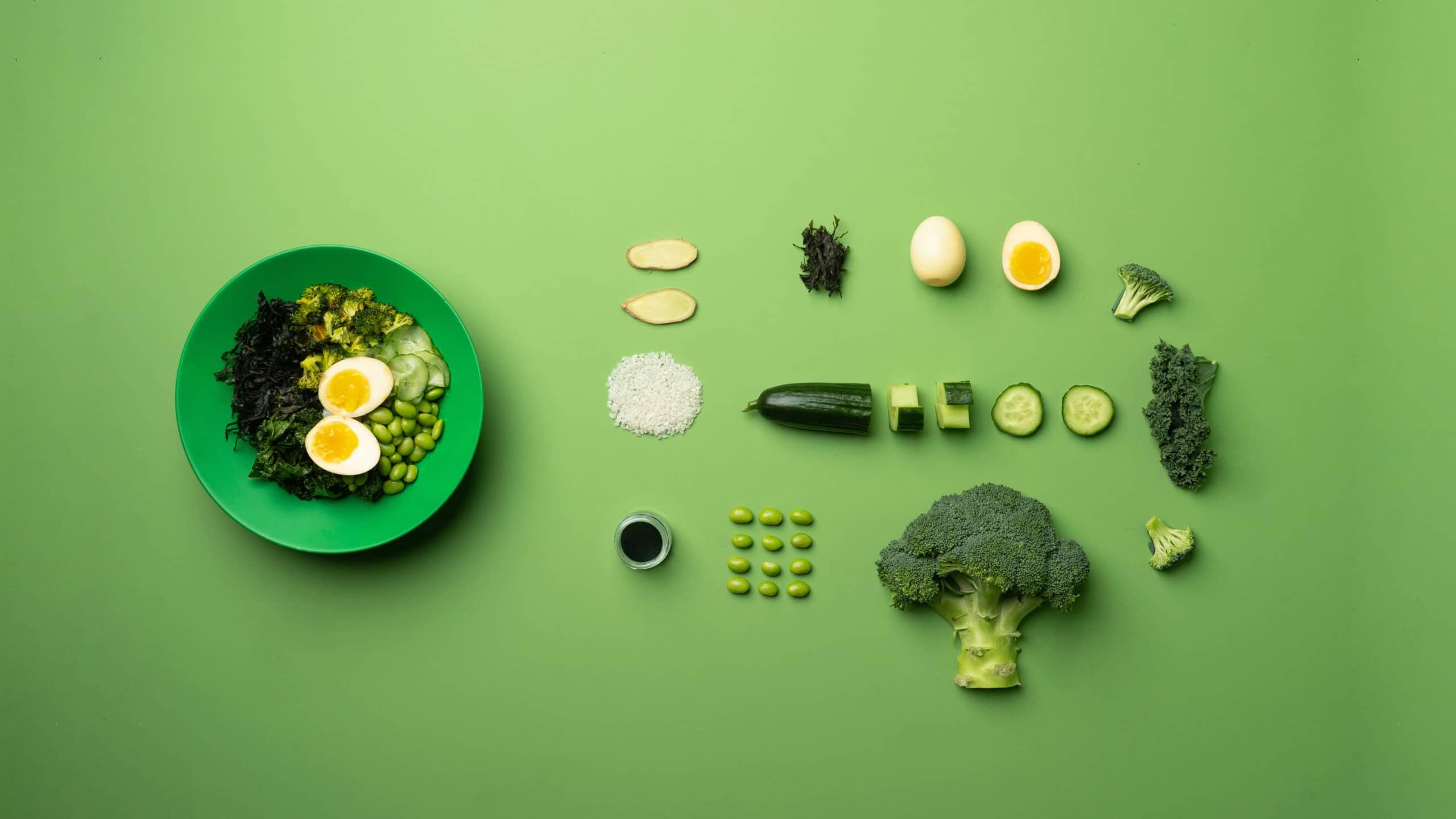 Decomposition du bowl Green Love Moko Moko Gardlab