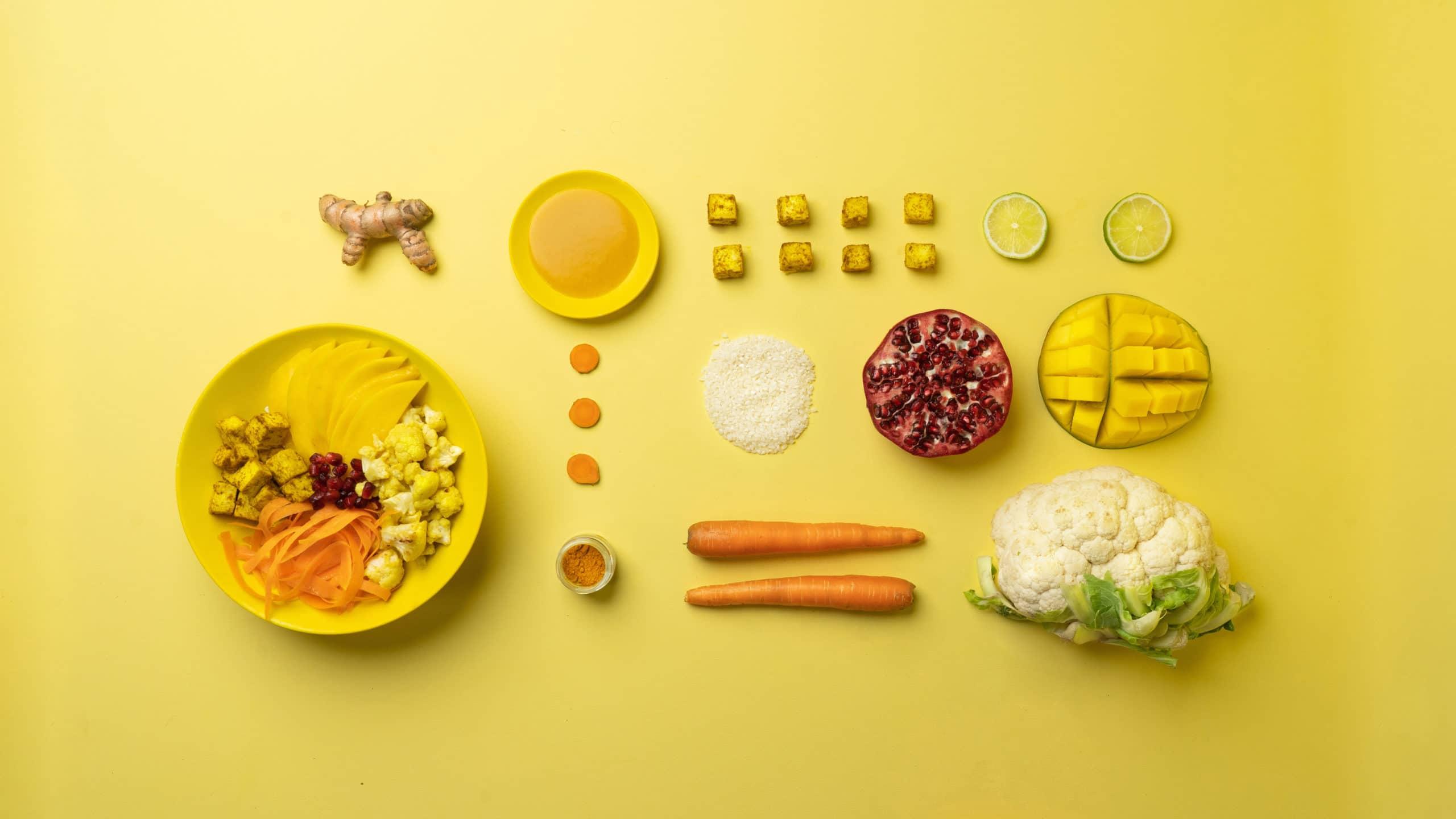 Decomposition du bowl Yellow Sunshine Moko Moko Gardlab