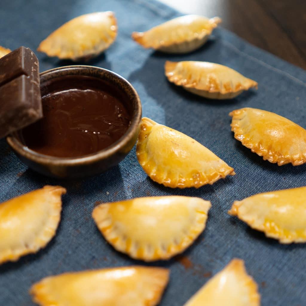 Mini empanadas chocolat noisette - Loscarlitos